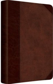 Imitation Leather Brown / Tan Book