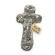 Christ Story Wall Cross, Two-Tone
