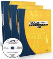 Saxon Math 5/4 Kit & DIVE CD-Rom, 3rd Edition