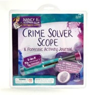 Nancy B's Science Club: Crime Solver Scope & Forensics Activity Journal