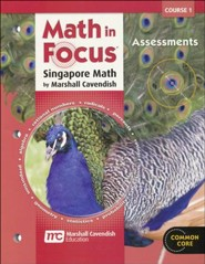 Math In Focus Course 1 Grade 6 Assessments