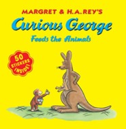Curious George Feeds the Animals (with stickers)  -     By: H.A. Rey