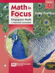 Math In Focus Course 1 Grade 6 Extra Practice A
