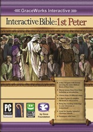 Interactive Bible: 1st Peter Computer Game (Access Code Only)