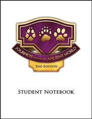 Journey through the Ancient World Grade 6 Student  Notebook Pages (4 Units; 2nd Edition)