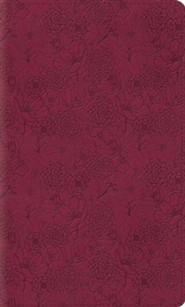 Imitation Leather Pink Book Red Letter
