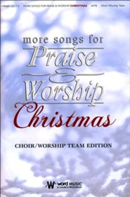 More Songs for Praise & Worship: Christmas, Choral Book