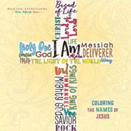 Names of Jesus: Adult Coloring Book