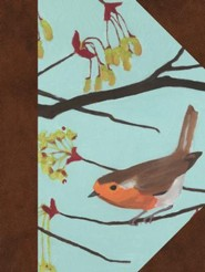 Hardcover Brown English Robin