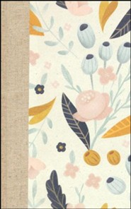Hardcover Pink Book Red Letter Spring Bloom