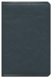 ESV Single Column Personal Size Bible (Calfskin, Black) Genuine Leather