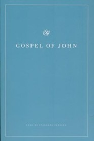 ESV Gospel of John (Softcover, White Design)  -