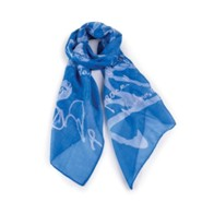 Blessings, Blue Scarf (Numbers 6:24-26)
