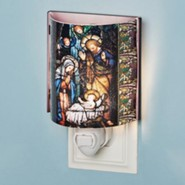Holy Family Stained Glass Nightlight