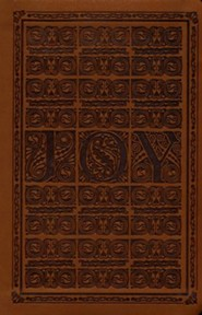 Brown Joy Woodcut