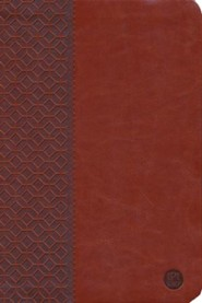 Imitation Leather Brown Large Print Book