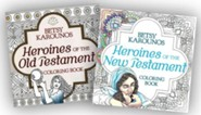 Heroines of the Bible Coloring Books, 2-Pack