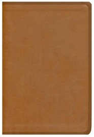Genuine Leather Brown Book Red Letter - Slightly Imperfect