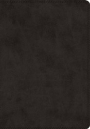 ESV Super Giant Print Bible (TruTone Imitation Leather, Black)