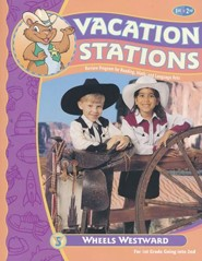 Vacation Stations: Wheels Westward, Grade 2