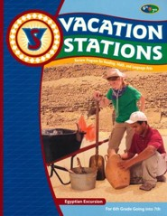 BJU Press Vacation Stations #7: Egyption Excursion (Updated Copyright)