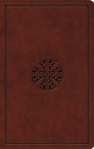 Imitation Leather Brown Book Black Letter