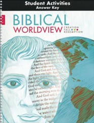 BJU Press Biblical Worldview Student Activities Answer Key (KJV Edition)
