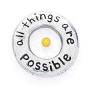All Things Possible Lapel Pin