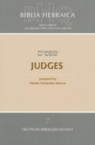 Biblia Hebraica Quinta: Judges