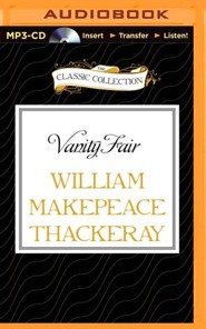 Vanity Fair - unabridged audiobook on MP3-CD