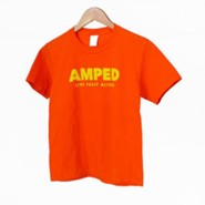 AMPED: Youth Child T-Shirt, X-Large