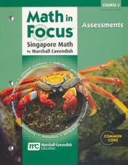 Math in Focus Course 2 (Grade 7) Assessments