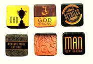 Man of God Magnet Set