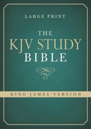 KJV Study Bible, Large Print  -     By: Christopher D. Hudson