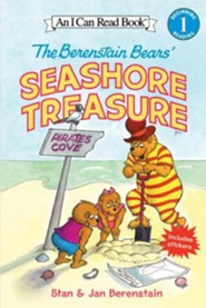 The Berenstain Bears' Seashore Treasure [With Stickers]