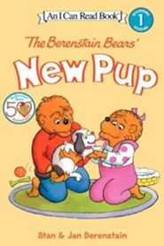 The Berenstain Bears' New Pup [With Stickers]