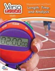 VersaTiles Math: Measurement and Data Length, Time, and Analysis (Grade 1)