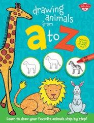 Drawing Animals From A to Z  -
