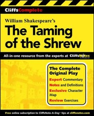 CliffsComplete The Taming of the Shrew