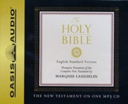 ESV New Testament MP3 on CD-ROM