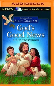 God's Good News Bible Storybook - unabridged audio book on MP3-CD