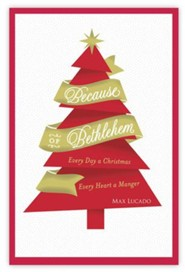 Because of Bethlehem Cards , Box of 18