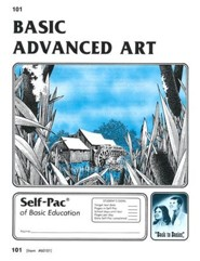 Advanced Art Self-Pac 101, Grades 9-12