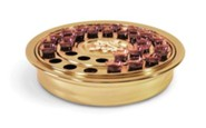 Brass-tone Whole Body Communion Tray