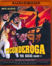 Ticonderoga - Season Three - unabridged radio drama on MP3-CD