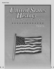 Abeka United States History in Christian Perspective:  Heritage of Freedom Tests