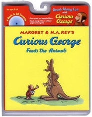 Curious George Feeds the Animals, Book and CD  -