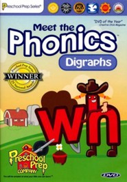 Meet the Phonics: Digraphs DVD