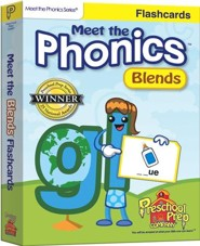 Meet the Phonics: Blends Flashcards