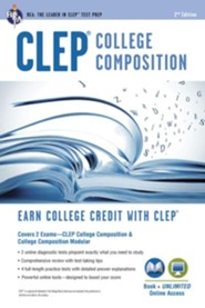 CLEP College Composition w/ Online Practie Exams